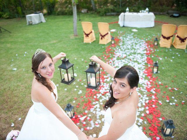 La boda de Nathalie y María
