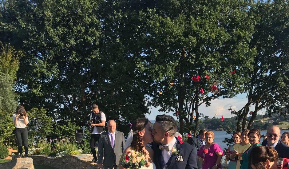 La boda de Cristian  y Cinthia en Abegondo, A Coruña