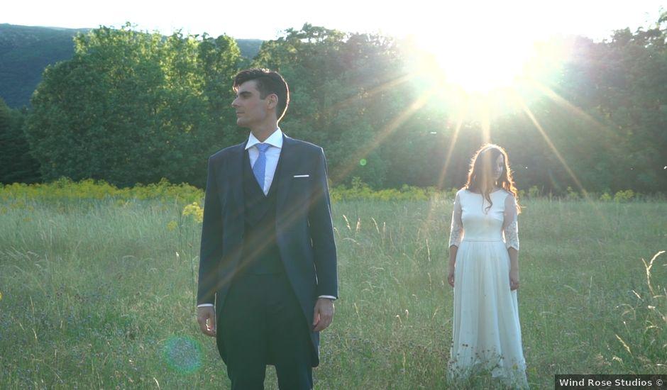La boda de Fran y Laura en Rascafria, Madrid