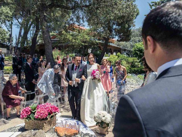 La boda de German y Elsa en Hoyo De Manzanares, Madrid 15