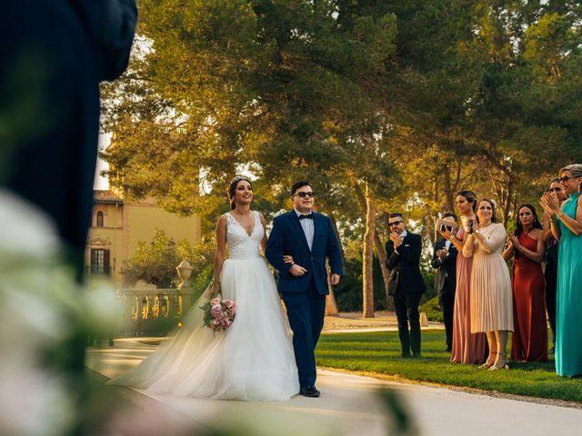 La boda de Raul y Laura en Riba-roja De Túria, Valencia 9