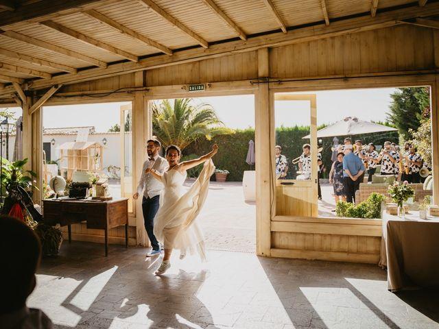 La boda de Arantza y Ferran en La Pobla De Farnals, Valencia 54
