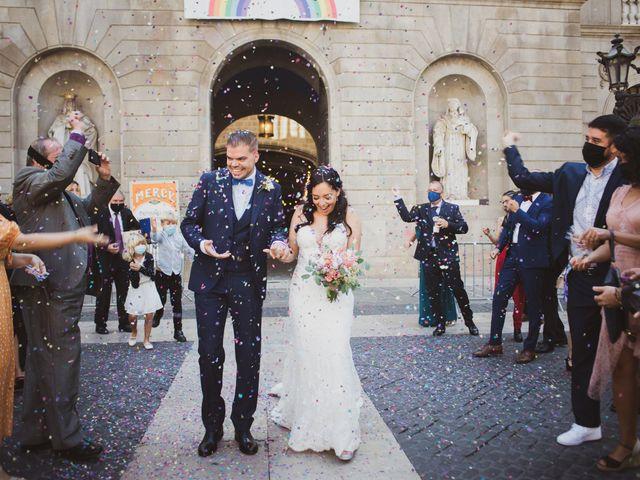 La boda de Emanuelly y Marc en Prats De Lluçanes, Barcelona 28
