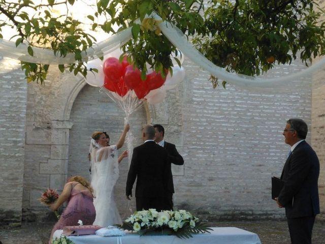 La boda de Antonio y Diana en Santiponce, Sevilla 1