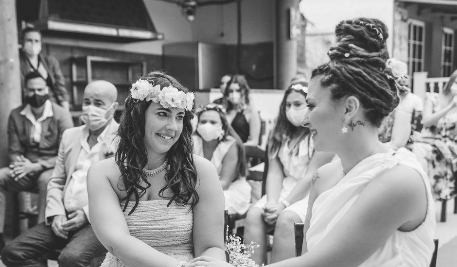 La boda de Zuleima y Jennifer en Arucas, Las Palmas