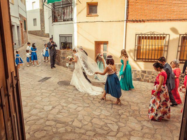La boda de Fran y Soledad en Berzocana, Cáceres 16