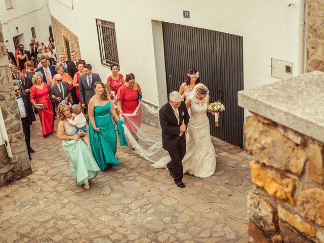 La boda de Fran y Soledad en Berzocana, Cáceres 17