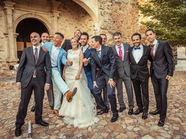 La boda de Fran y Soledad en Berzocana, Cáceres 29