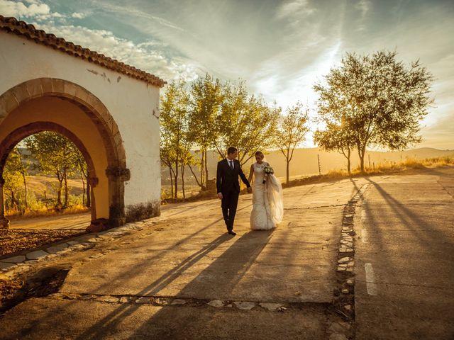 La boda de Fran y Soledad en Berzocana, Cáceres 31