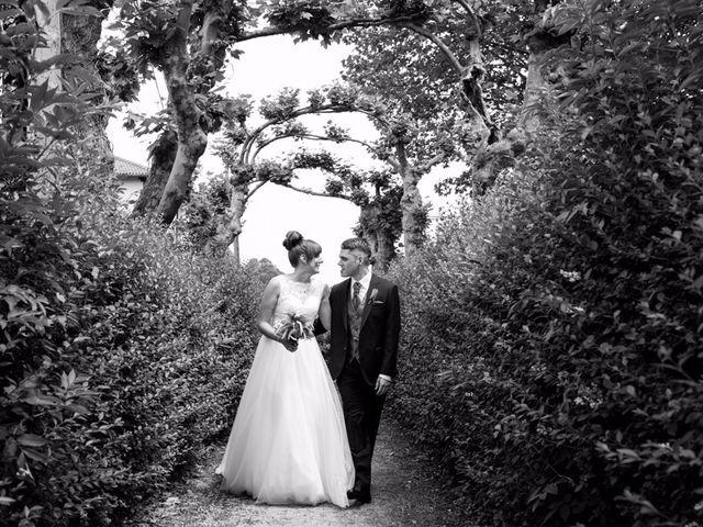 La boda de Izaskun y Andoni