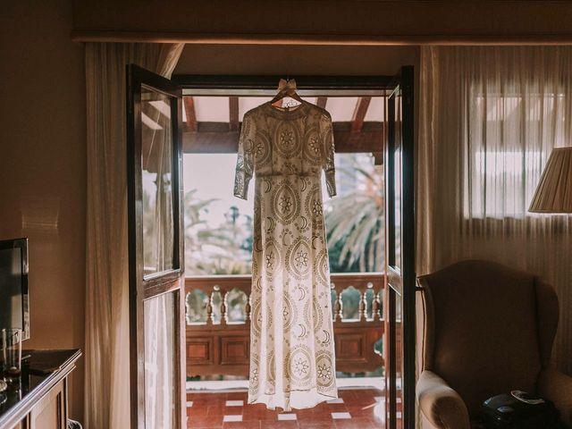 La boda de Luis y Marta en Arucas, Las Palmas 1
