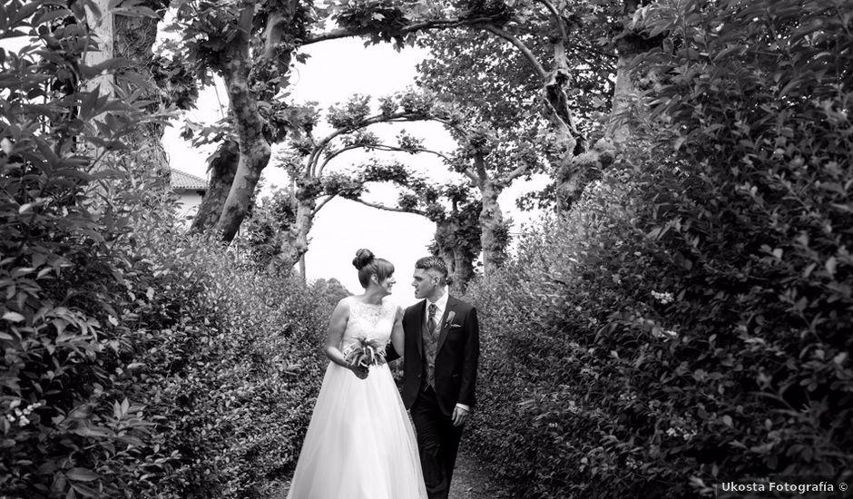 La boda de Andoni y Izaskun en Sondika, Vizcaya