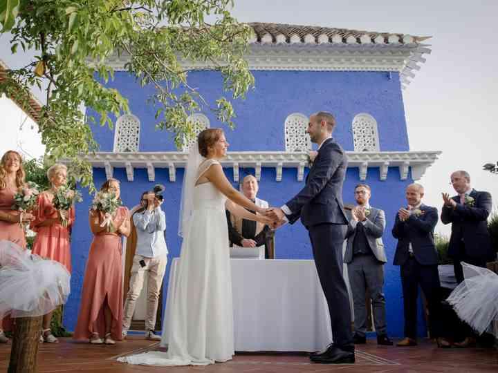 La boda de Victoria y Mike