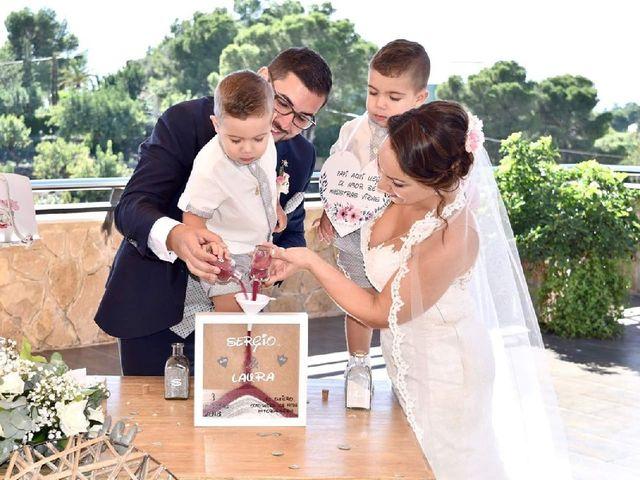 La boda de Sergio  y Laura  en Alginet, Valencia 1