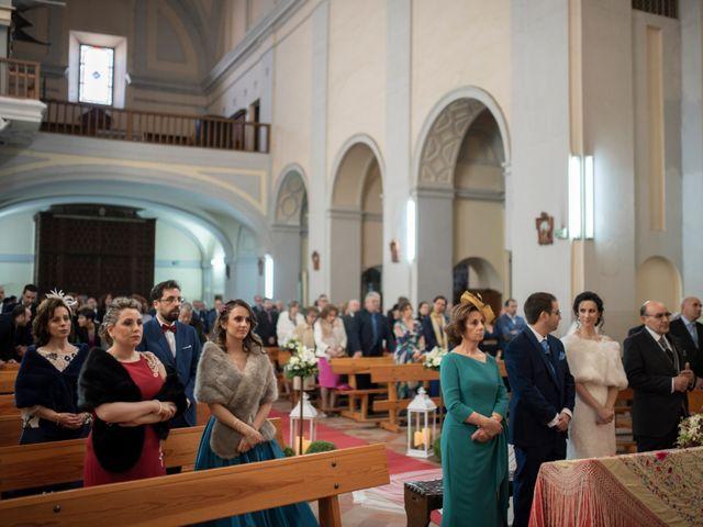 La boda de David y Cristina en La Puebla De Montalban, Toledo 36