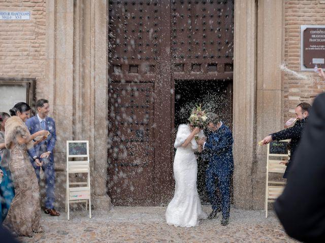 La boda de David y Cristina en La Puebla De Montalban, Toledo 37