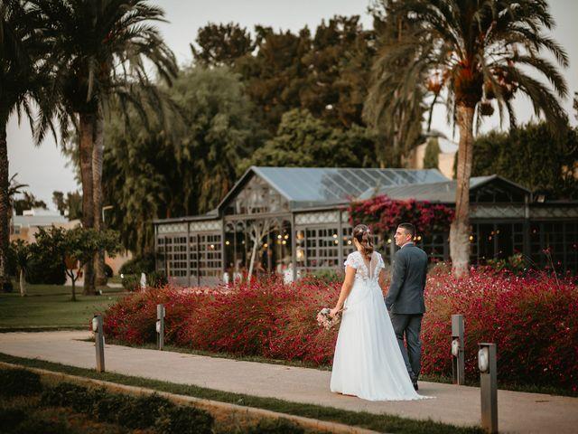La boda de Lidia y Alberto en El Puig, Valencia 21