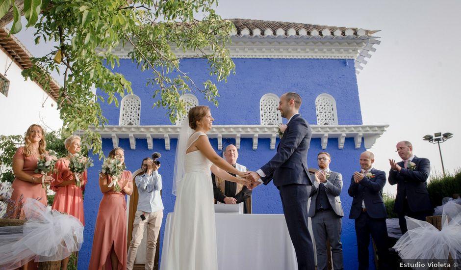 La boda de Mike y Victoria en Granada, Granada