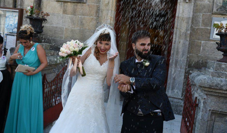 La boda de Manuel y Vanina en Laxe, A Coruña