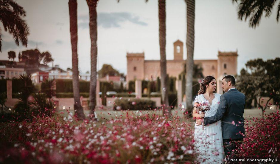 La boda de Lidia y Alberto en El Puig, Valencia