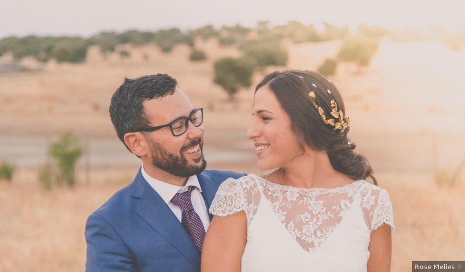La boda de Pablo y María en Mérida, Badajoz
