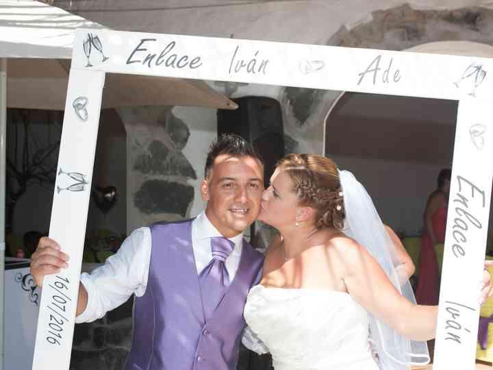 La boda de Iván y Adelaida