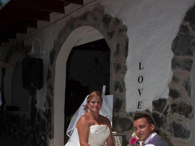 La boda de Adelaida y Iván en Montaña Cardones, Las Palmas 14