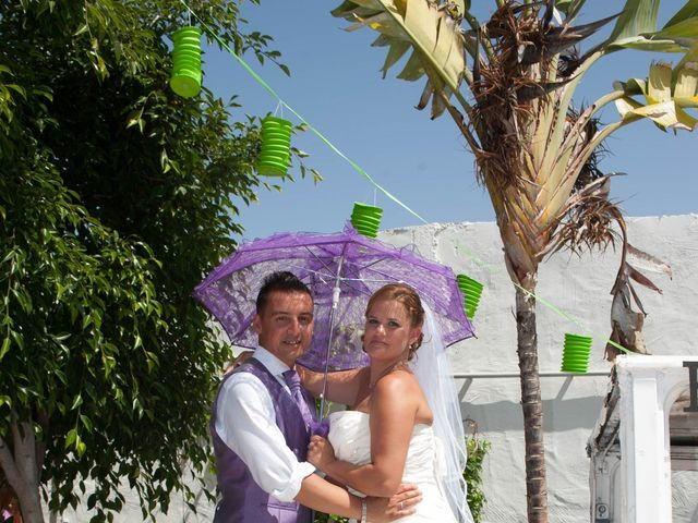 La boda de Adelaida y Iván en Montaña Cardones, Las Palmas 17