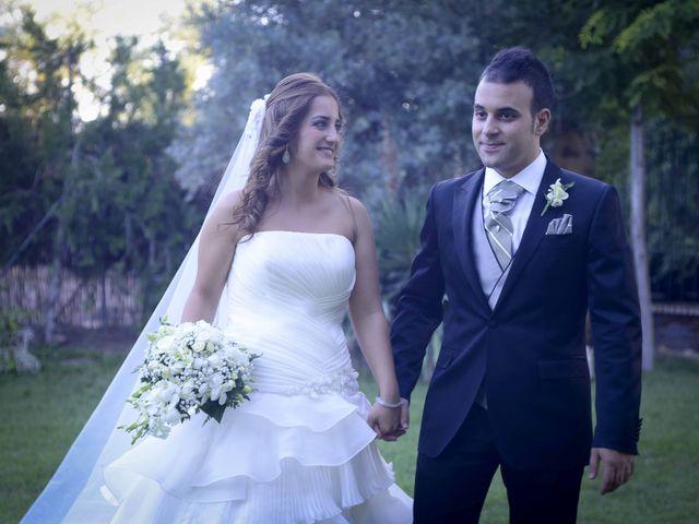 La boda de Antonio y Miriam en Argamasilla De Calatrava, Ciudad Real 1
