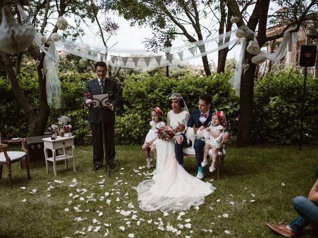 La boda de Javier y Lorena en Navaluenga, Ávila 118
