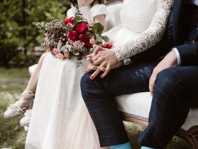 La boda de Javier y Lorena en Navaluenga, Ávila 125