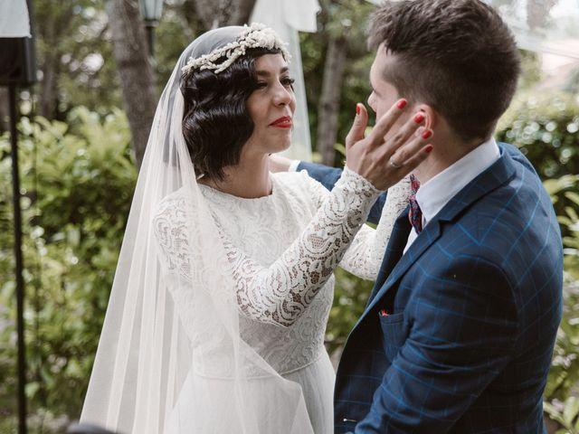 La boda de Javier y Lorena en Navaluenga, Ávila 132