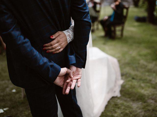 La boda de Javier y Lorena en Navaluenga, Ávila 135