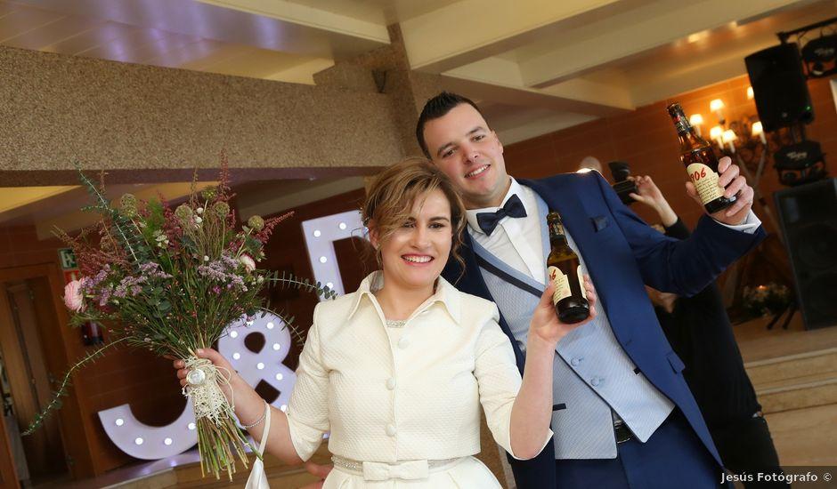 La boda de Dani y Jenny en A Guarda, Pontevedra