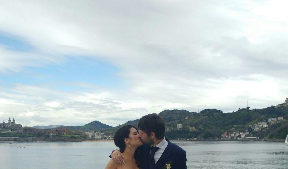 La boda de Iñaki y Edurne en Donostia-San Sebastián, Guipúzcoa