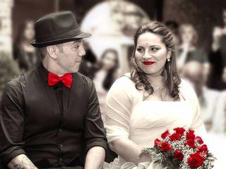 La boda de Crisoula y Santi