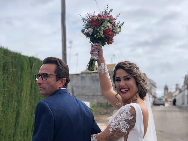 La boda de antonio y sara  en Fuente Palmera, Córdoba 3