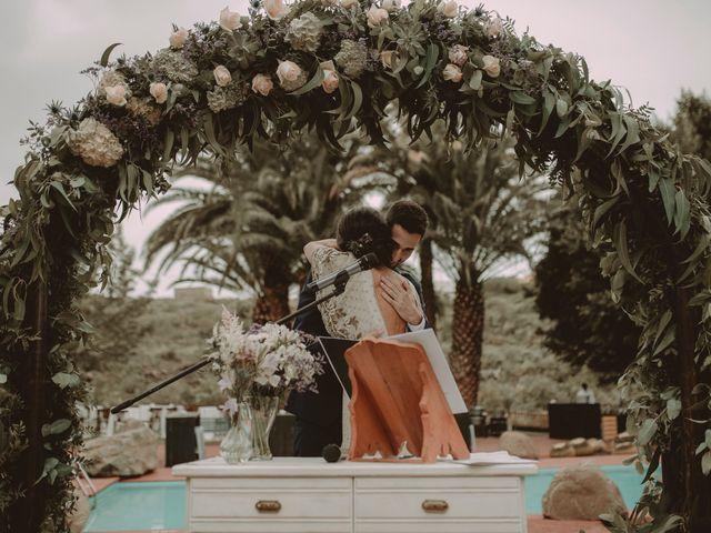 La boda de Javier y Diana en Galdar, Las Palmas 50