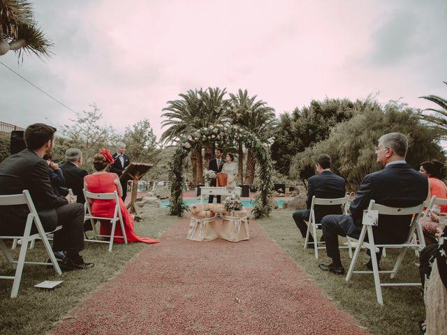 La boda de Javier y Diana en Galdar, Las Palmas 58