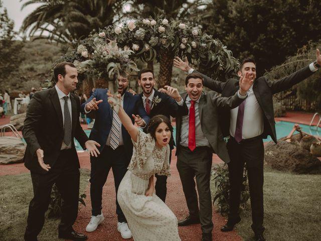 La boda de Javier y Diana en Galdar, Las Palmas 65