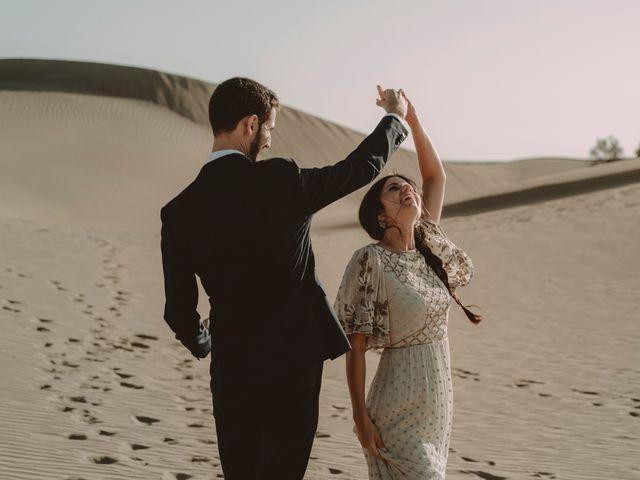 La boda de Javier y Diana en Galdar, Las Palmas 120