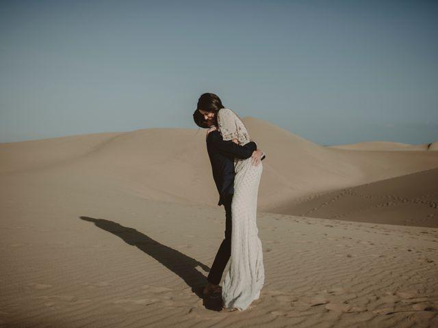 La boda de Javier y Diana en Galdar, Las Palmas 128
