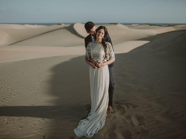 La boda de Javier y Diana en Galdar, Las Palmas 129