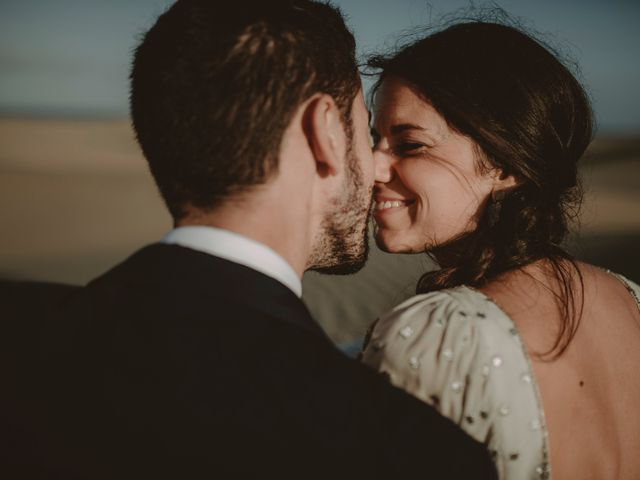 La boda de Javier y Diana en Galdar, Las Palmas 133