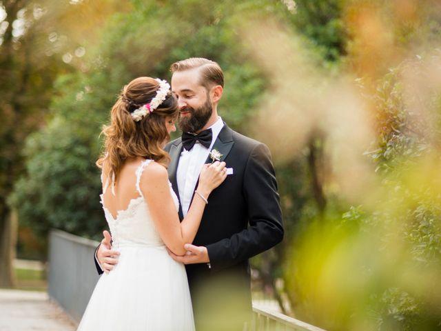 La boda de Carlos y Belén en Madrid, Madrid 1