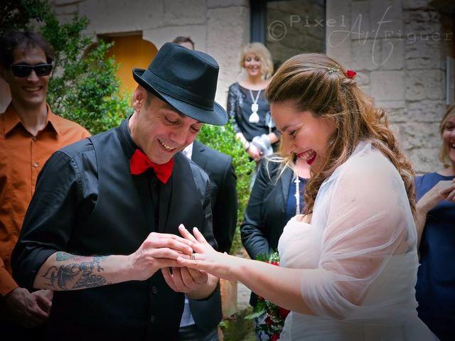 La boda de Santi y Crisoula en Banyoles, Girona 1