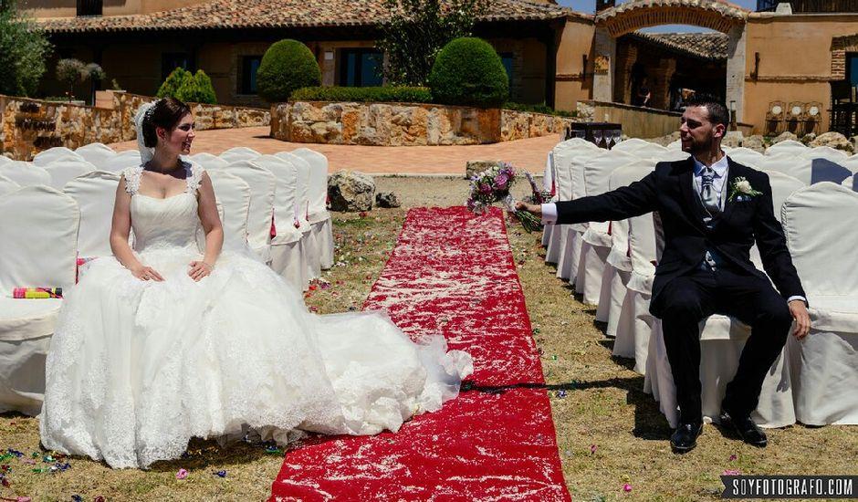 La boda de Diego y Jessica en Tiedra, Valladolid