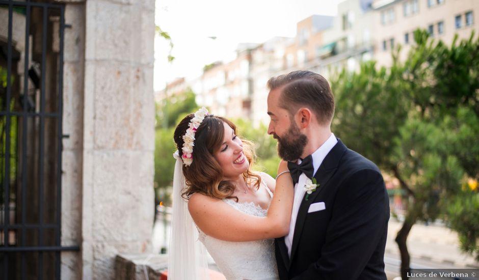 La boda de Carlos y Belén en Madrid, Madrid