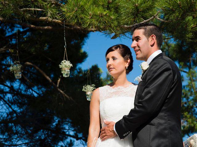 La boda de Ángeles y Chuchu