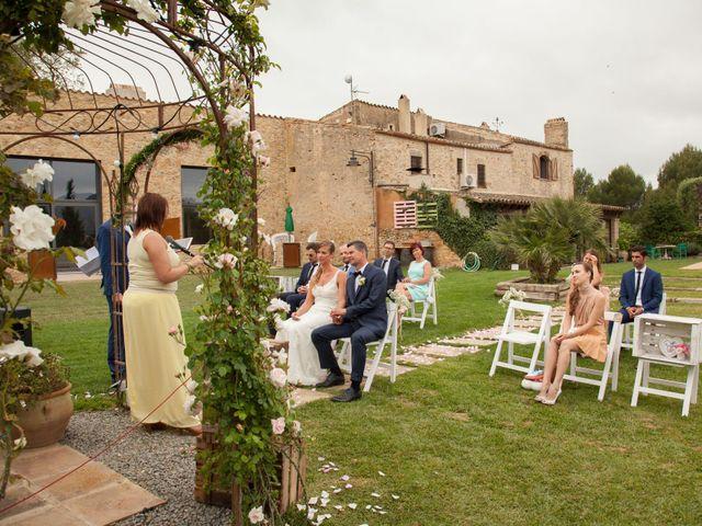 La boda de Kenneth y Sophie en Regencos, Girona 7